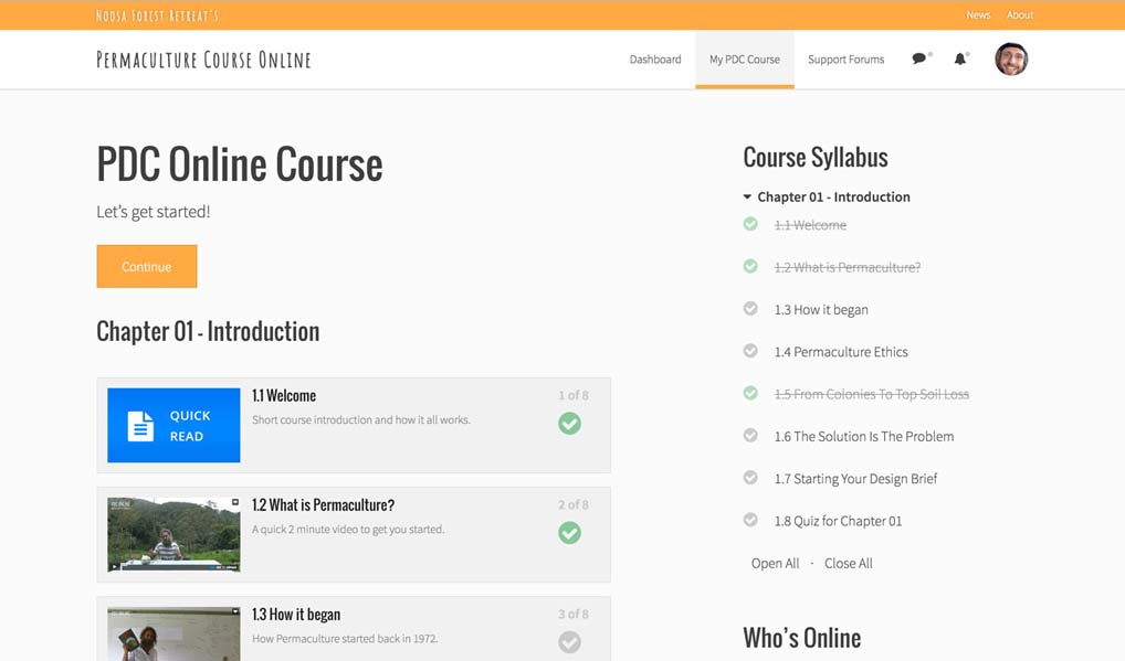PDC Online Course Preview